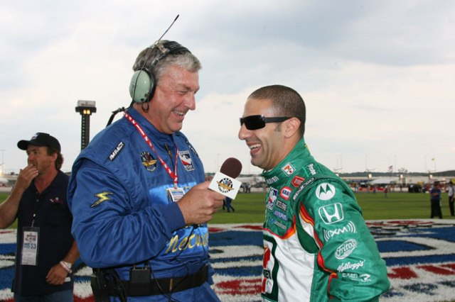 Bob and Tony Kanaan