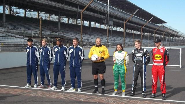 Players-drivers-referee