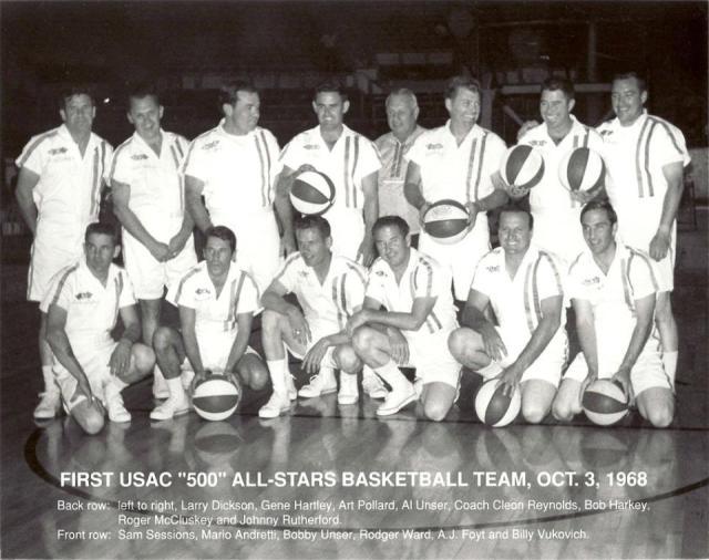 USAC Basketball team