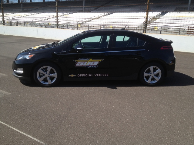 Mayor Ballard's choice, the Chevy Volt