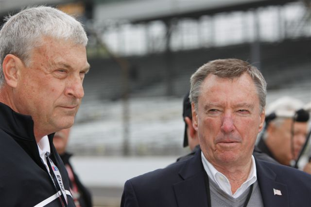 Bob Jenkins and Johnny Rutherford
